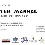 Einladung zur Fotoausstellung von Peter Manhal