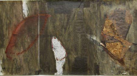 Tryptichon, 62x144, Papier